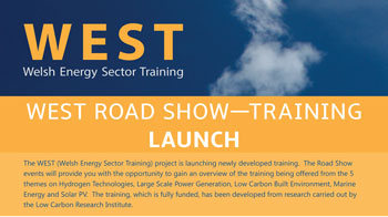 WEST Road Show – Training Launch